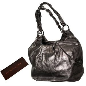 ELLIOTT LUCCA Graphite Astrid Hobo Bag